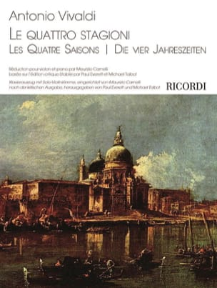 Les Quatre Saisons - Violon et piano VIVALDI Partition laflutedepan