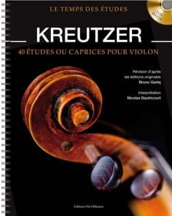 Rodolphe Kreutzer - 40 Etudes ou Caprices pour Violon - Partition - di-arezzo.fr