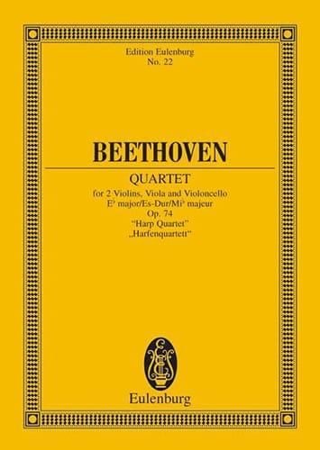 Streichquartett Es-Dur op. 74 -Partitur - laflutedepan.com