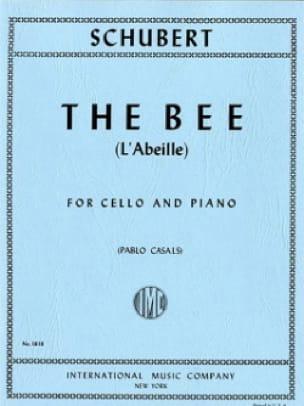L'abeille Op. 13 n° 9 - Violoncelle - SCHUBERT - laflutedepan.com