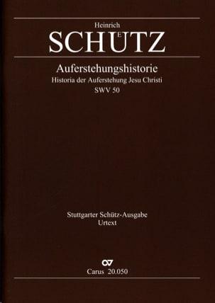 Auferstehungs-Historie SCHUTZ Partition Grand format - laflutedepan