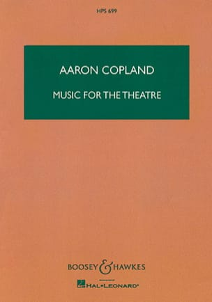 Music for the Theatre COPLAND Partition Grand format - laflutedepan