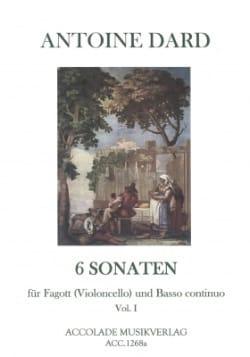 6 Sonates, Volume 1 pour Basson ou Violoncelle et Bc laflutedepan