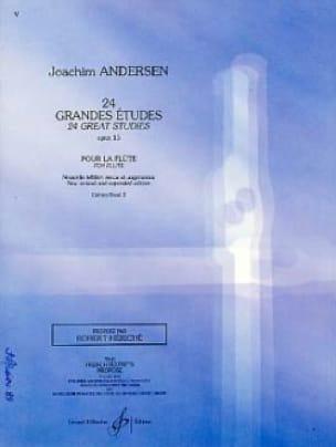 24 Grandes études op. 15 - Volume 2 - ANDERSEN - laflutedepan.com