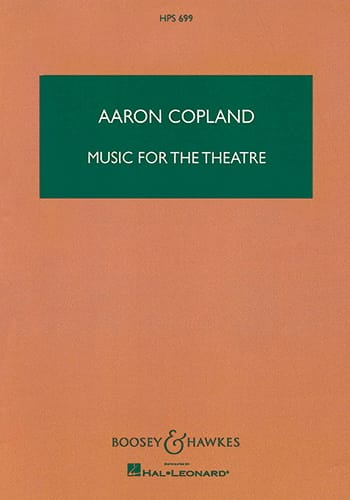 Music for the Theatre - COPLAND - Partition - laflutedepan.com