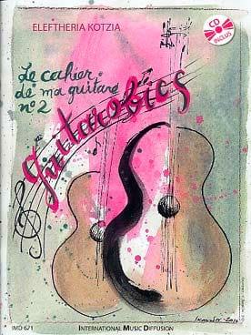 Le Cahier de ma Guitare N° 2 - Guitarobics - laflutedepan.com