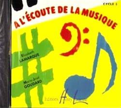 CD - A l' Ecoute de la Musique - Cycle 1 laflutedepan
