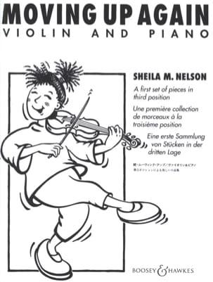 Moving up Again Sheila M. Nelson Partition Violon - laflutedepan