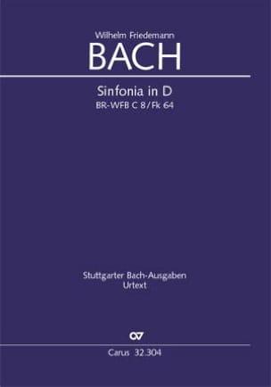 Sinfonia en Ré Majeur FK 64 Wilhelm Friedemann Bach laflutedepan