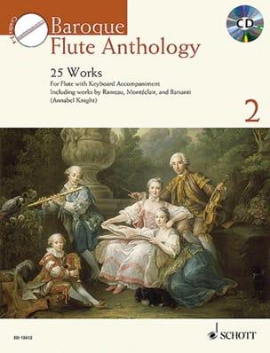 Baroque Flute Anthology Vol. 2 - Flûte et piano laflutedepan