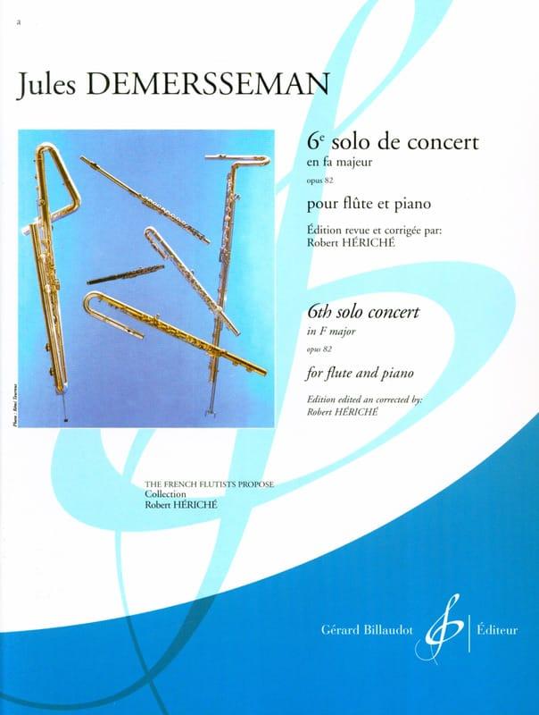 6ème Solo de concert fa majeur op. 82 - Flûte piano - laflutedepan.com