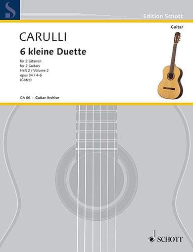 6 Kleine Duette op. 34 - Heft 2 - laflutedepan.com