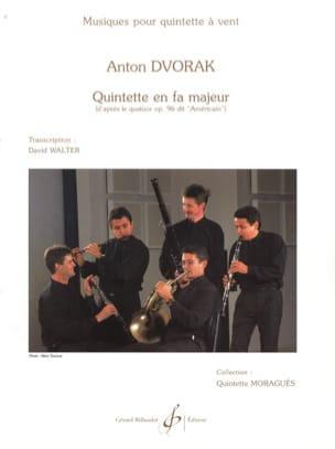 Quintette en fa majeur - Parties + Cond. DVORAK Partition laflutedepan