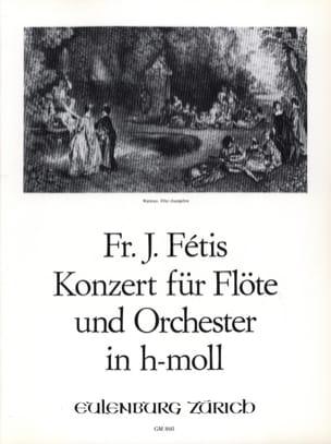 Konzert h-moll - Flöte Klavier François-Joseph Fétis laflutedepan