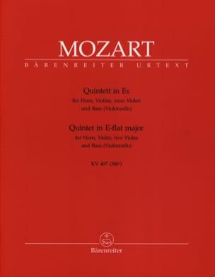 Quintett Es KV 407 - Horn Violine 2 Violen Bass MOZART laflutedepan