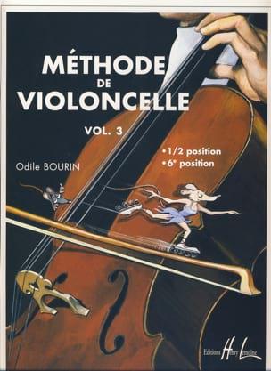 Méthode de Violoncelle Volume 3 Odile Bourin Partition laflutedepan