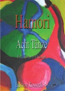 8 Tänze Thomas Hamori Partition Quintettes - laflutedepan