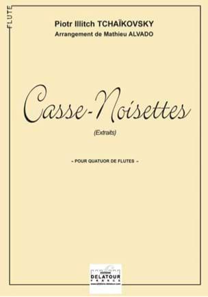 Ballet Casse-Noisette pour Quatuor de Flûtes TCHAIKOVSKY laflutedepan