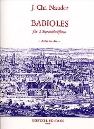 Babioles Op.10 - Jacques Christophe Naudot - laflutedepan.com