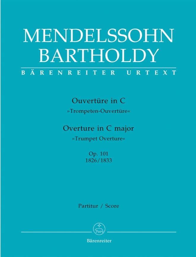 Ouvertüre in C op. 101 -Partitur - MENDELSSOHN - laflutedepan.com