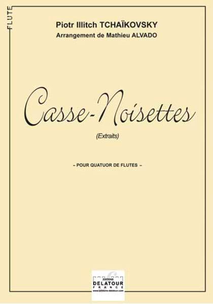 Ballet Casse-Noisette pour Quatuor de Flûtes - laflutedepan.com
