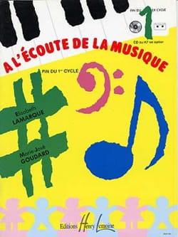 Elisabeth LAMARQUE et Marie-José GOUDARD - Listening to music - End cycle 1 - Partition - di-arezzo.co.uk
