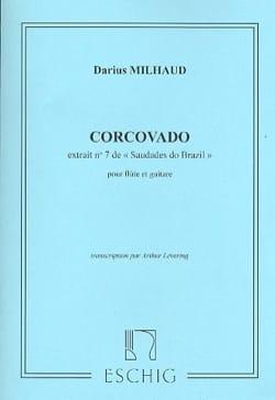 Corcovado - MILHAUD - Partition - Duos - laflutedepan.com