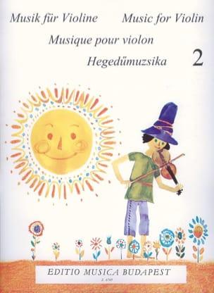 Musique Pour les 1er Pas Vol.2 - Violon Gabriella Lenkei laflutedepan