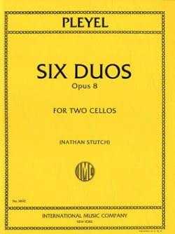 6 Duos op. 8 Ignaz Pleyel Partition Violoncelle - laflutedepan