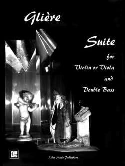 Suite - Reinhold Glière - Partition - 0 - laflutedepan.com