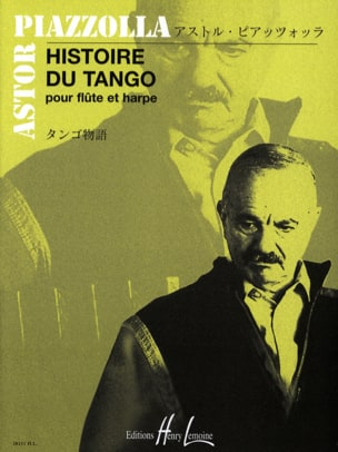 Histoire du Tango - Flûte et harpe Astor Piazzolla laflutedepan