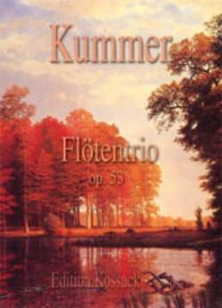 Flötentrio Op.53 Gaspard Kummer Partition laflutedepan