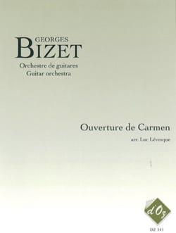 Ouverture de Carmen - BIZET - Partition - Guitare - laflutedepan.com