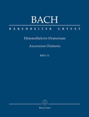 Himmelfahrts-Oratorium BWV 11 BACH Partition laflutedepan