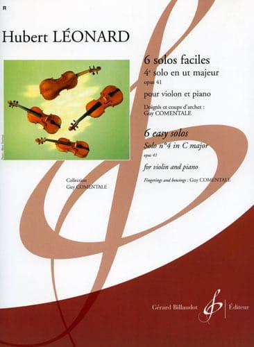 4ème Solo en ut majeur, op. 41 Comentale - laflutedepan.com