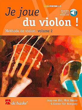 Je Joue du Violon - Volume 2 - DE HASKE - Partition - laflutedepan.com