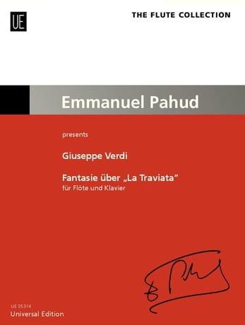 Fantaisie sur La Traviata - VERDI - Partition - laflutedepan.com