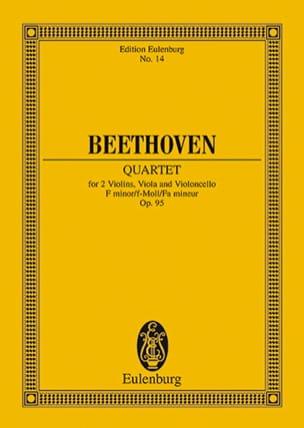 Streichquartett F-moll op. 95 -Partitur - laflutedepan.com