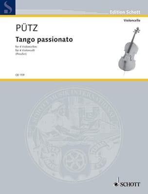 Tango Passionato - 4 Violoncelli Eduard Pütz Partition laflutedepan