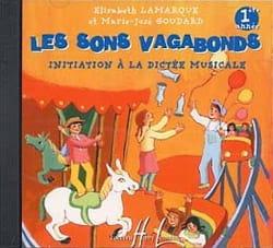 Elisabeth LAMARQUE et Marie-José GOUDARD - CD - the Vagabonds Sounds - 1st Year - Partition - di-arezzo.co.uk