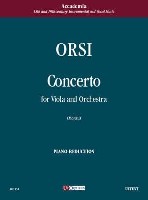 Concerto per viola e orch. - Viola piano Celestino Orsi laflutedepan