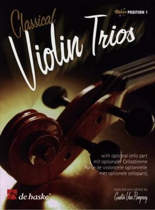 Classical Violin Trios - Gunter van Rompaey - laflutedepan.com