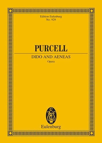Dido and Aeneas - PURCELL - Partition - laflutedepan.com