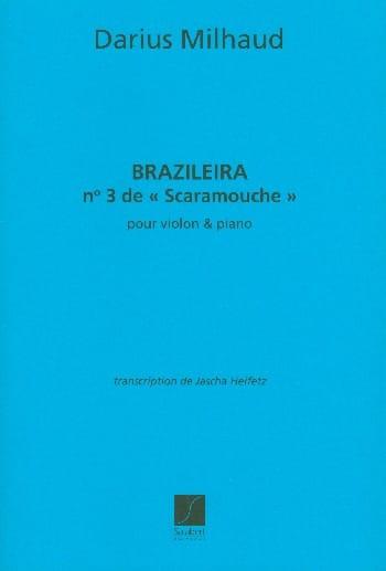 Braziliera, n° 3 de Scaramouche - MILHAUD - laflutedepan.com