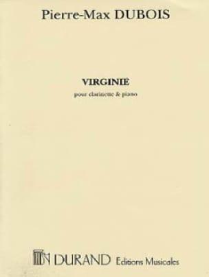 Virginie - Pierre-Max Dubois - Partition - laflutedepan.com