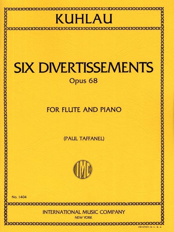 6 Divertissements op. 68 - Friedrich Kuhlau - laflutedepan.com