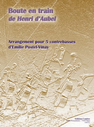 Boute En Train - Aubel Henri D' - Partition - laflutedepan.com