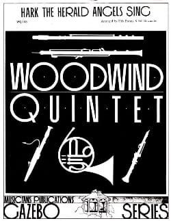 Hark The Herald Angels Sing -Woodwind quintet laflutedepan