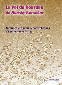 Le Vol Du Bourdon RIMSKY-KORSAKOV Partition Contrebasse - laflutedepan