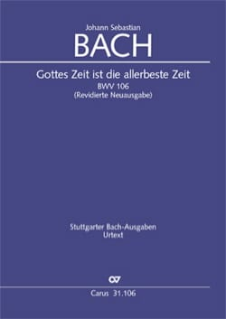 Gottes Zeit ist die allerbeste Zeit, BWV 106 BACH laflutedepan